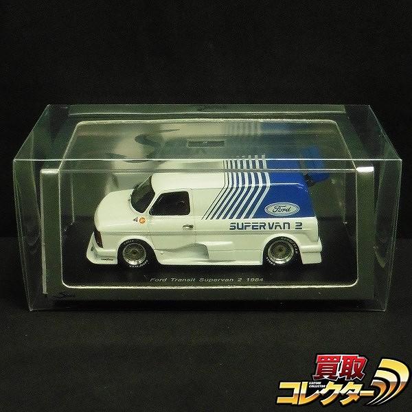 スパーク 1/43 フォード トランジット スーパーバン2 1984