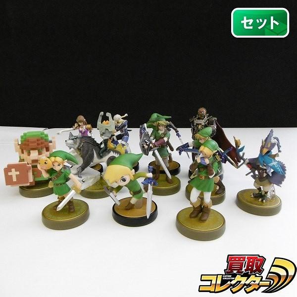 Nintendo amiibo ゼルダの伝説 12体 リンク ガノンドロフ