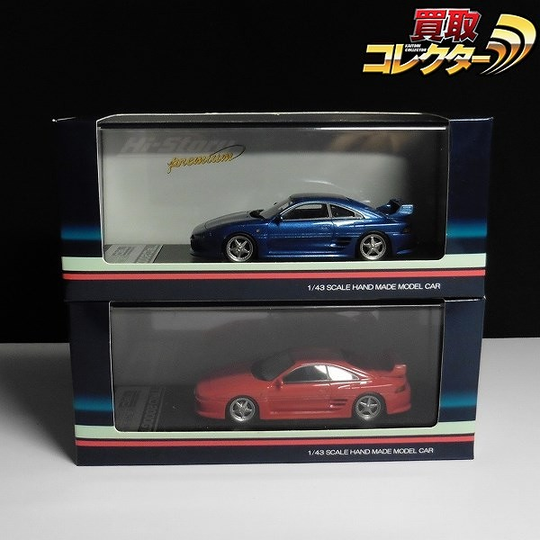 Hi-Story Premium 1/43 TRD 2000GT スーパーレッド ブルー