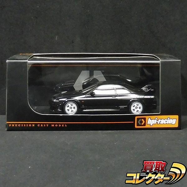 hpi-racing 1/43 8805 ニスモ Nismo 400R ブラック 黒