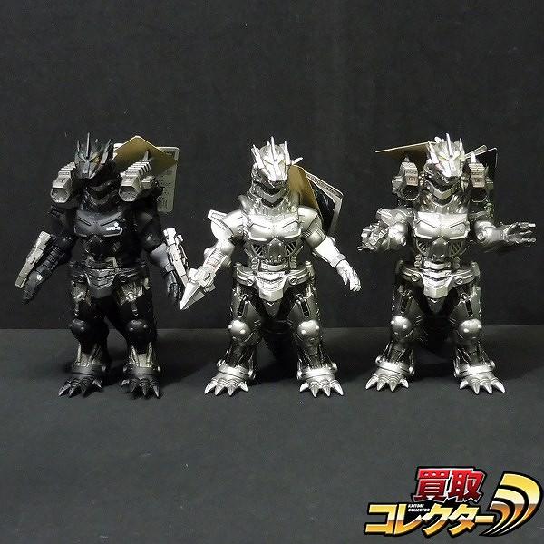 ムービーモンスターシリーズ メカゴジラ2004 タグ付 ソフビ