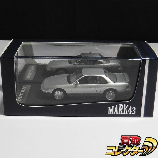 MARK43 1/43 ニッサンシルビア K's S13 ブルーイッシュシルバー