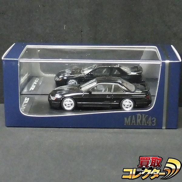 MARK43 1/43 ニッサン シルビア K's S13 カスタムVer. ブラック
