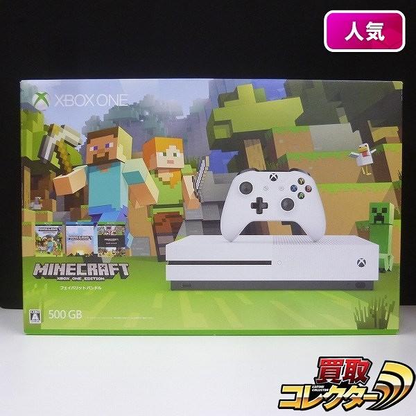 XBOX ONE S 500GB マインクラフト同梱版