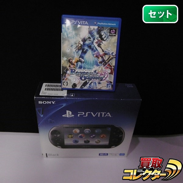 PS VITA PCH-2000 + ラグナロクオデッセイ