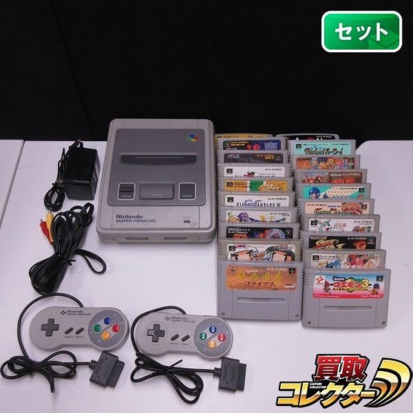 スーパーファミコン 本体 ソフト 20本 真・女神転生Ⅱ ロックマン7