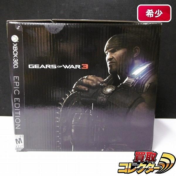 XBOX360 GEARS OF WAR 3 EPIC エディション