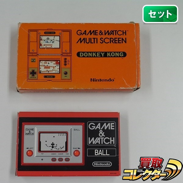 任天堂 ゲームウォッチ ドンキーコング ボール 計2点_1
