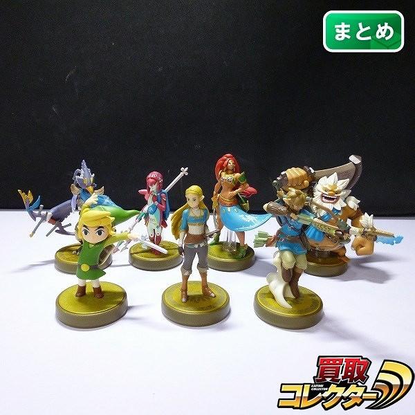 Nintendo ゼルダの伝説 amiibo リンク ゼルダ 他 計7点