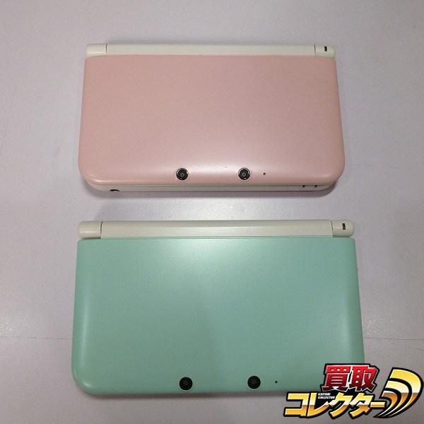 Nintendo 3DSLL 2台 ピンクxホワイト ミントxホワイト