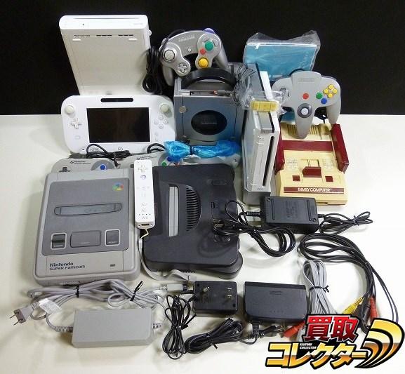FC SFC N64 GC Wii Wii U 本体 付属品 まとめて / NINTENDO
