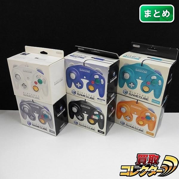 ゲームキューブ コントローラー 6点 / 任天堂 GC