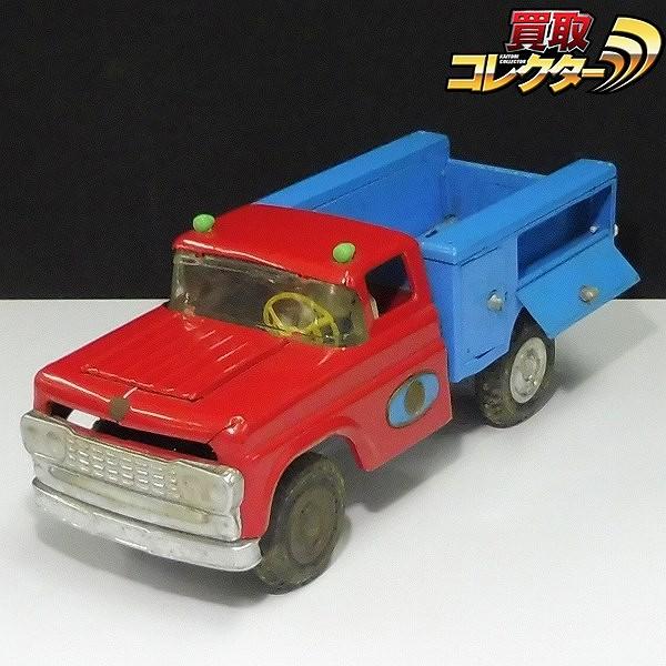 マルサン トラック ブリキ フリクション 約32cm / 自動車 レトロ