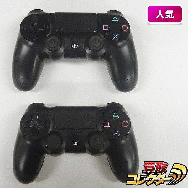 PS4 ワイヤレスコントローラ DUALSHOCK4 2点