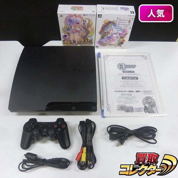 PS3 CECH-3000A ソフト トトリ メルルのアトリエ + 楽譜集