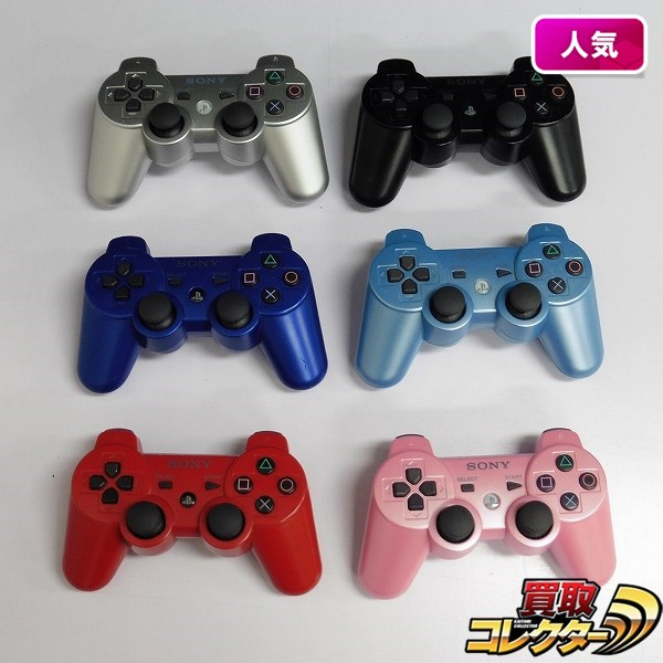 PlayStation3 PS3 コントローラ DUALSHOCK3 SIXAXIS 6点