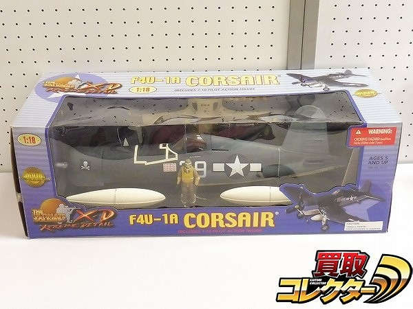 21st CENTURY TOYS 1/18 THE ULTIMATE SOLDIER XD F4U-1A