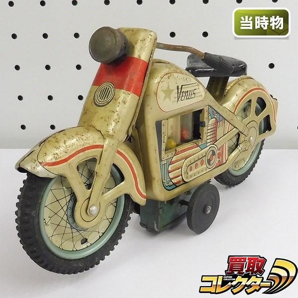 野村トーイ ブリキ VENUS バイク ゴールド 当時物 / ビーナス