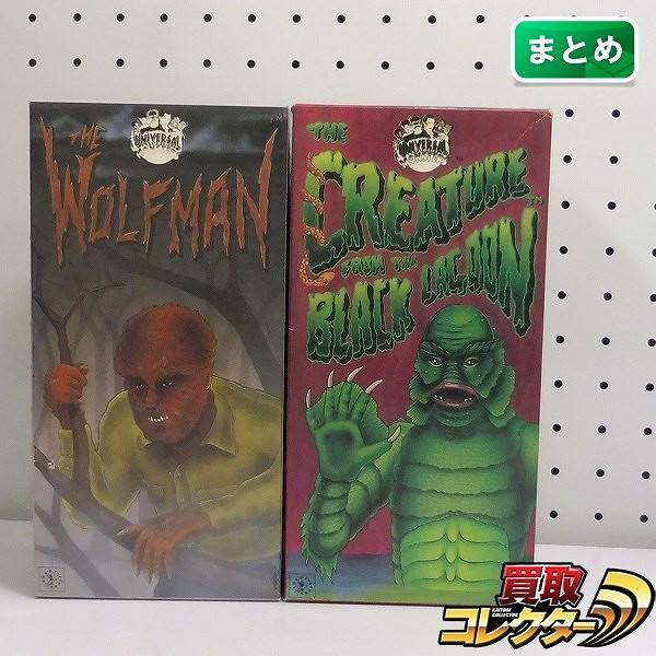 ロボットハウス 狼男 半魚人 ブリキ ゼンマイ / THE WOLFMAN