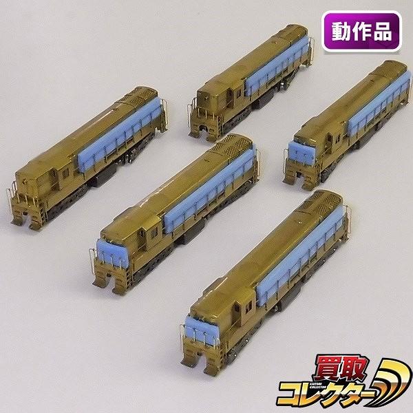 中村精密 Nゲージ FM H-24-60 トレインマスター 未塗装 完成品_1