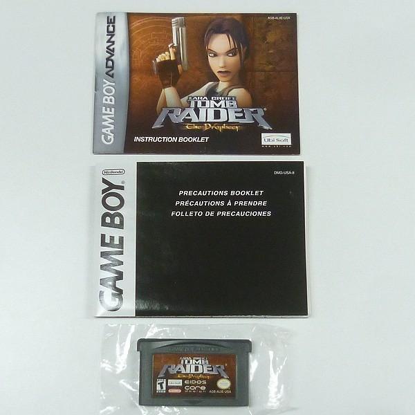 北米版 DS Lite + 北米版 GBAソフト トゥームレイダー_3