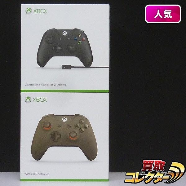 XBOX ONE コントローラ + ケーブル ワイヤレスコントローラ