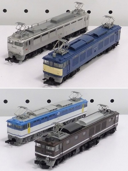 TOMIX 9197 JR EF65-1000 9198 JR ED79-50 2174 EF66 他_2