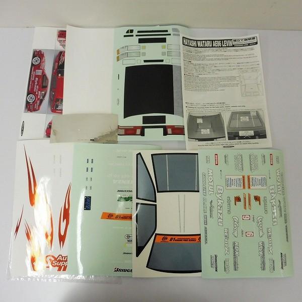 RC 1/10 ボディ AE86 LEVIN トヨタ カローラ KE70 ハイエース_3