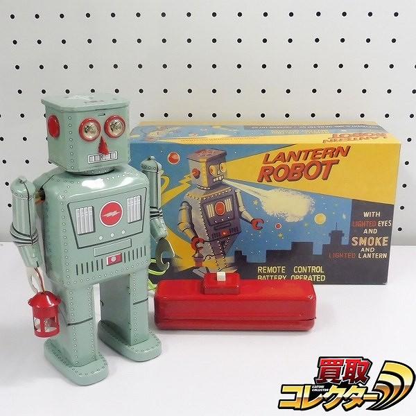 HA HA TOY : LANTERN ROBOT ブリキ 電動 / ランタンロボット