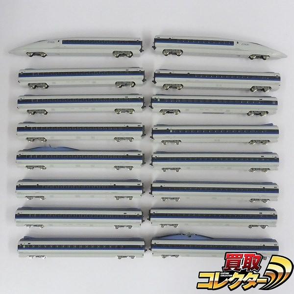 KATO Nゲージ N500系新幹線 のぞみ まとめ 16両 / 鉄道模型_1