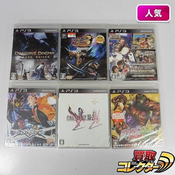 PS3 ソフト 6本 モンハン 3rd FF13-2 ビックスリー 他_1
