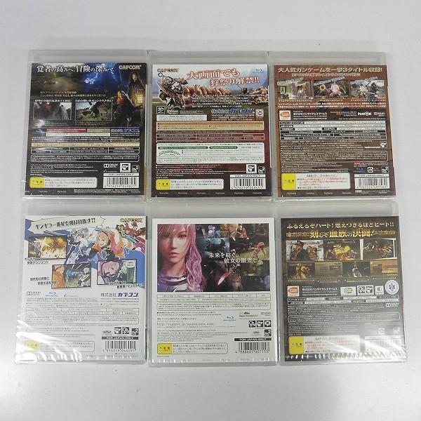 PS3 ソフト 6本 モンハン 3rd FF13-2 ビックスリー 他_2