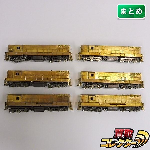 中村精密 Nゲージ H24-66 ディーゼル機関車 ×6 / 鉄道模型