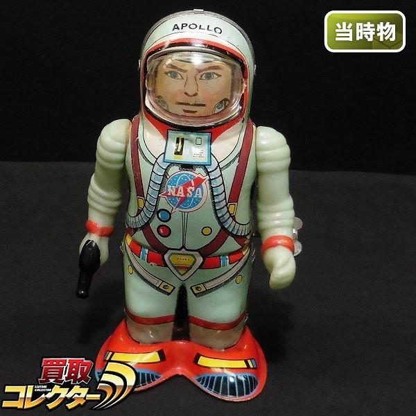 首藤商事 宇宙飛行士 NASA アポロ ブリキ ゼンマイ / 歩行