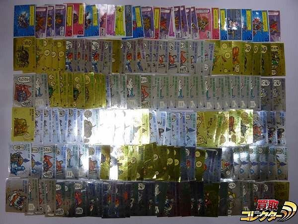 SDガンダム ガシャポン戦士 シール カード 約170枚 ZZ