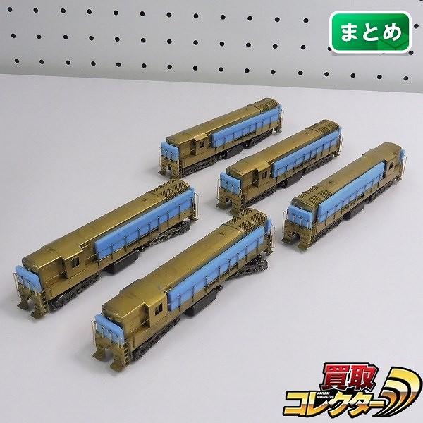中村精密 Nゲージ トレインマスター H24-66 ディーゼル機関車×6