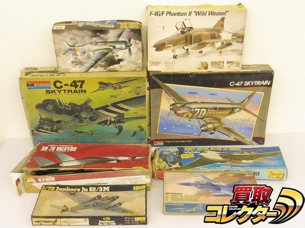 1/72 Heller ユンカースJu52/3M 1/48 ハセガワ F-16A 他