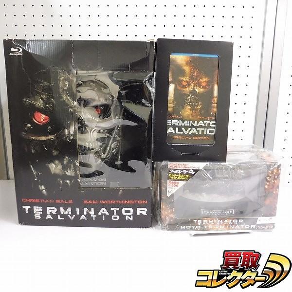 ターミネーター4 Blu-ray T-600 リアルヘッドフィギュア 他