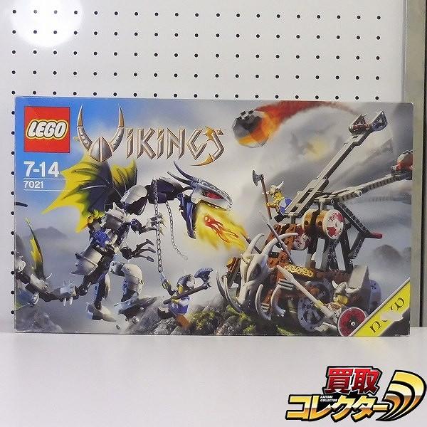 LEGO レゴ 7021 バイキング ダブル カタパルト / ブロック