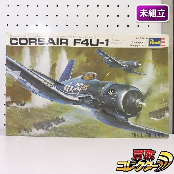 レベル Revell 1/32 コルセア F4U-1 / プラモデル