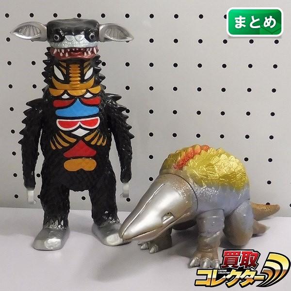 やまなや 怪獣郷 ソフビ ギャンゴ ガボラ / ウルトラマン 日本製