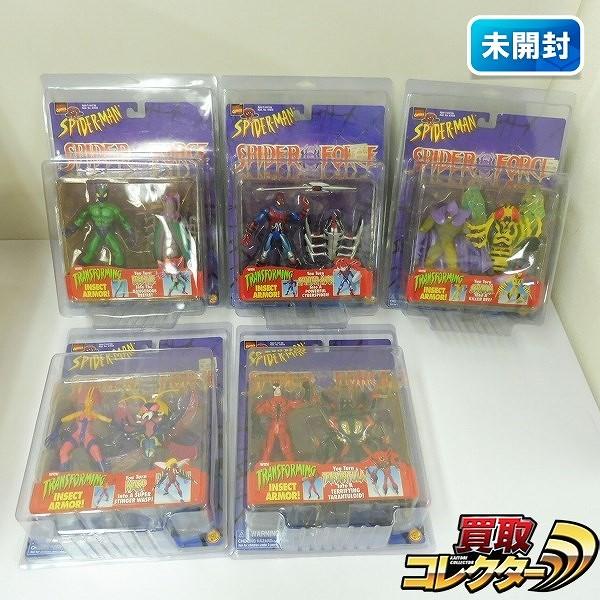 TOYBIZ トイビズ スパイダーマン SPIDER FORCE 5種