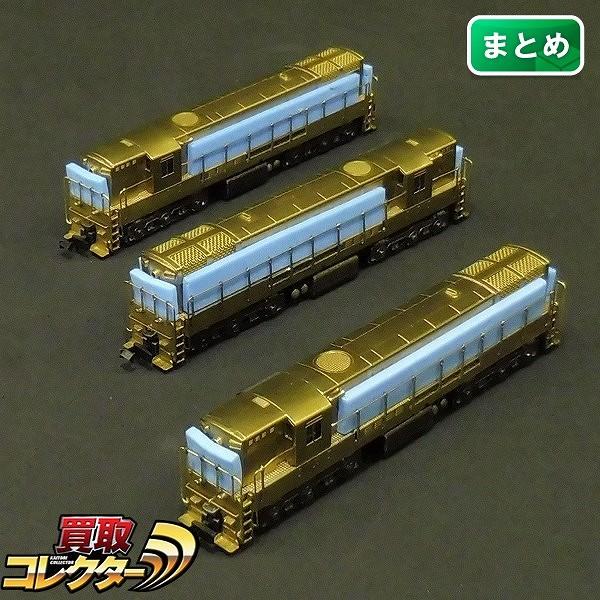 中村精密 Nゲージ トレインマスター H24-66 ディーゼル機関車×3