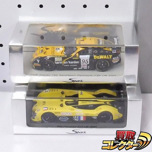 Spark 1/43 TVR タスカン T40 #95 LM2005 WR プジョー #24