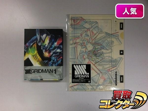 ブルーレイ SSSS.グリッドマン vol.1 きゃにめ 特製版 / Blu-ray