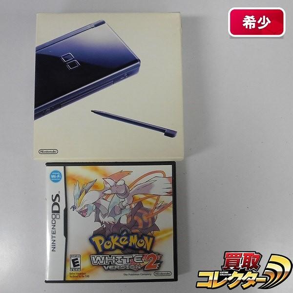 DS Lite + 北米版 ポケットモンスター ホワイト2