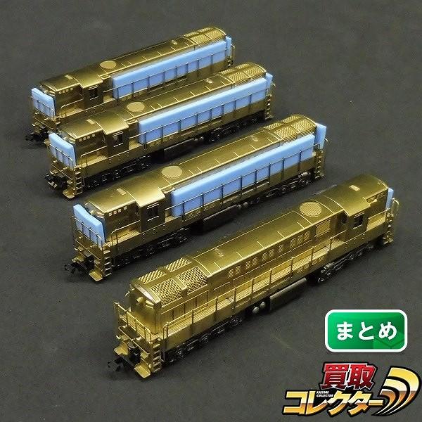 中村精密 Nゲージ トレインマスター H24-66 ディーゼル機関車×4