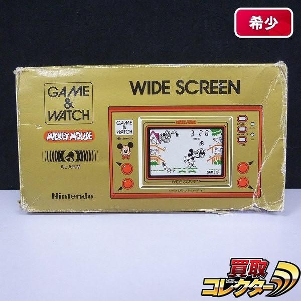 ニンテンドー ゲームウォッチ ミッキーマウス ワイドスクリーン / 任天堂