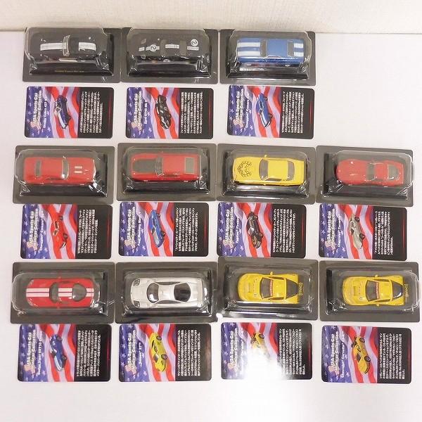 京商 1/64 USAスポーツカー ミニカーコレクション 10車種_3