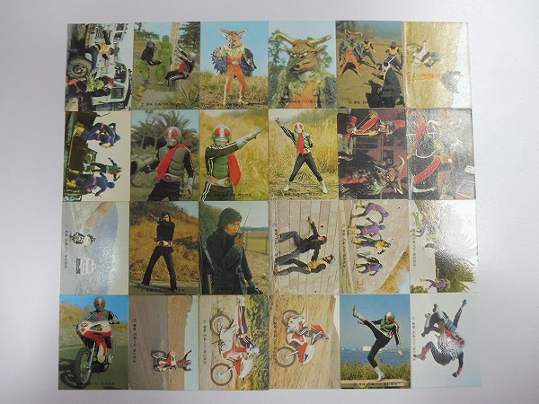 カルビー 旧 仮面ライダー スナック カード No.451~No.496 46枚 当時物_3
